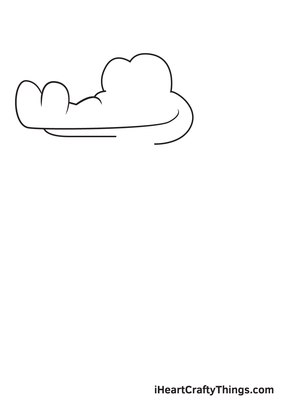 Alligator Drawing – Step 2