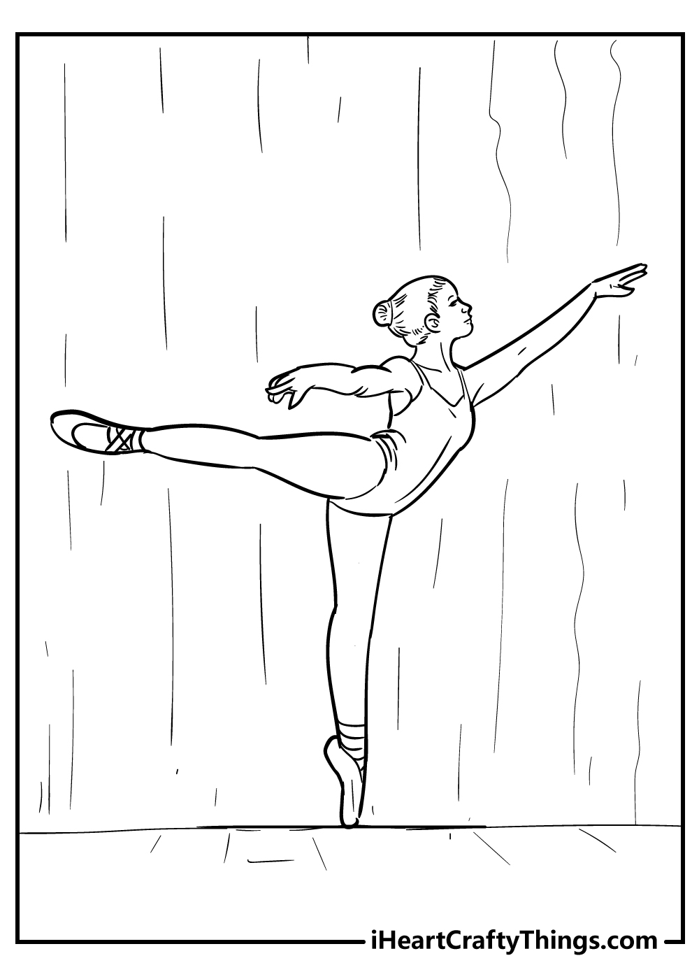 free ballet coloring sheets for kids