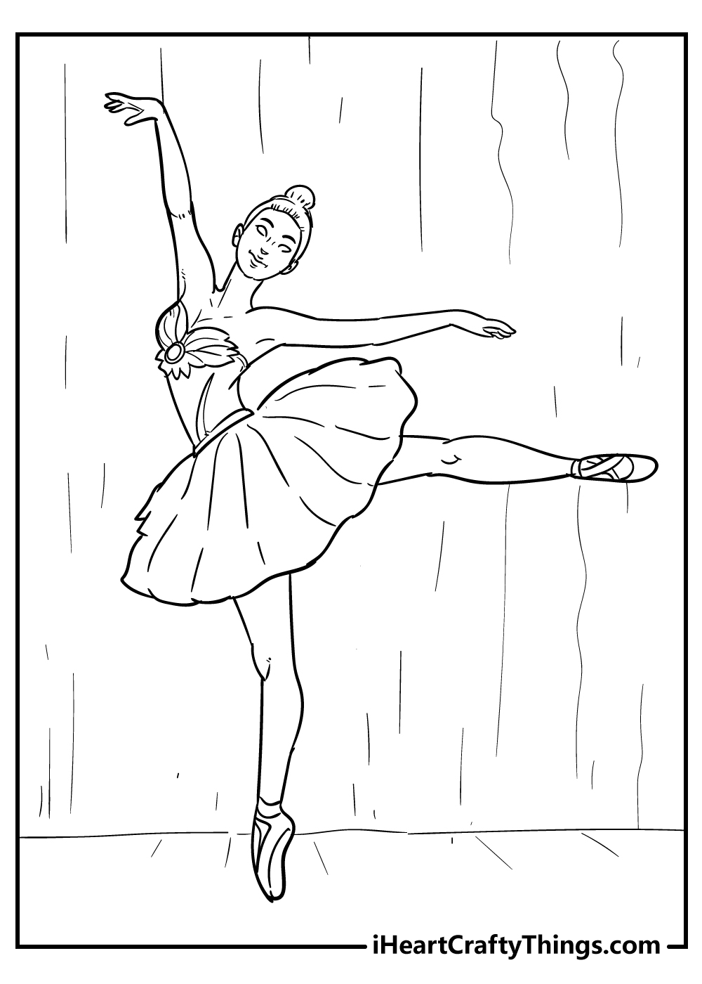 free ballet coloring sheets for adults