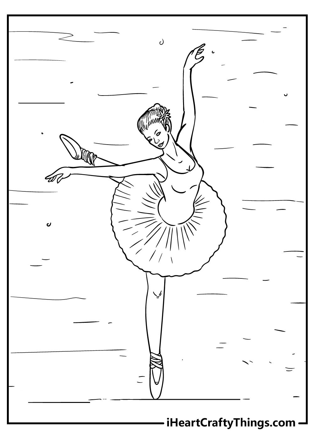 ballet coloring pages for preschoolers