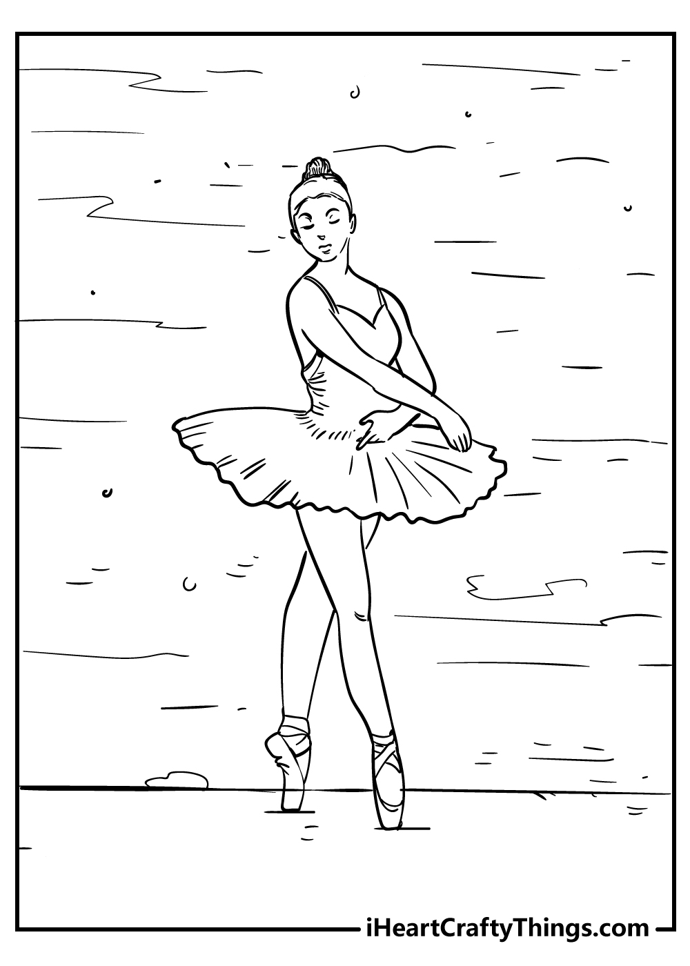 cute adult ballerina coloring pages free download