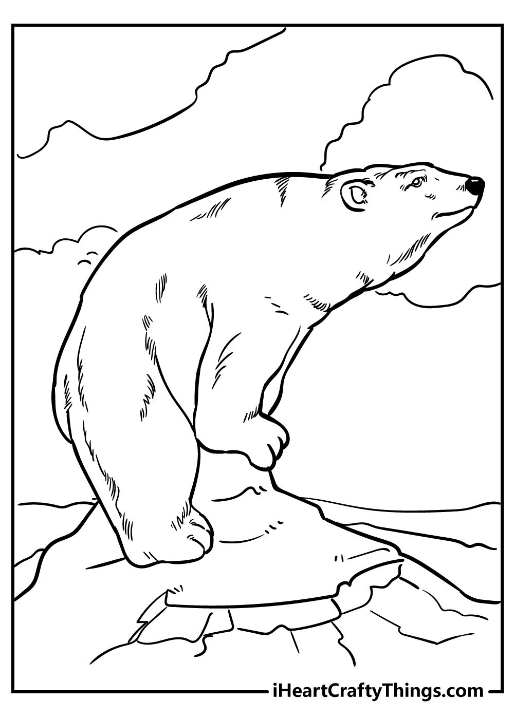 adult male bear coloring pages free download