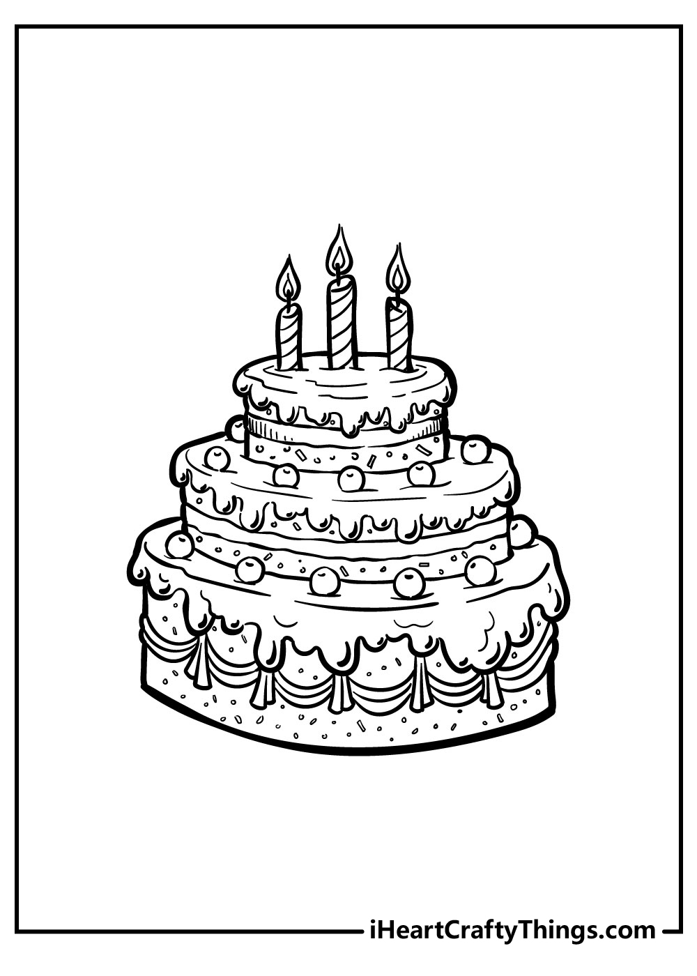 shopkins birthday cake coloring pages free download
