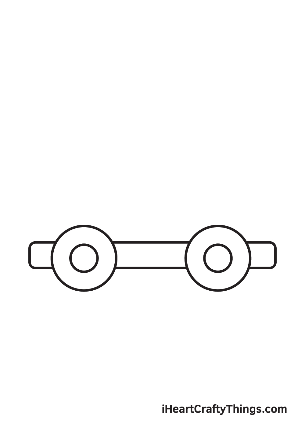 car drawing – step 3