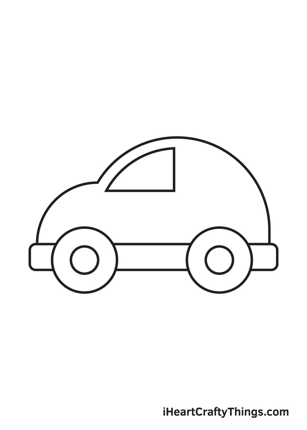 car drawing – step 5