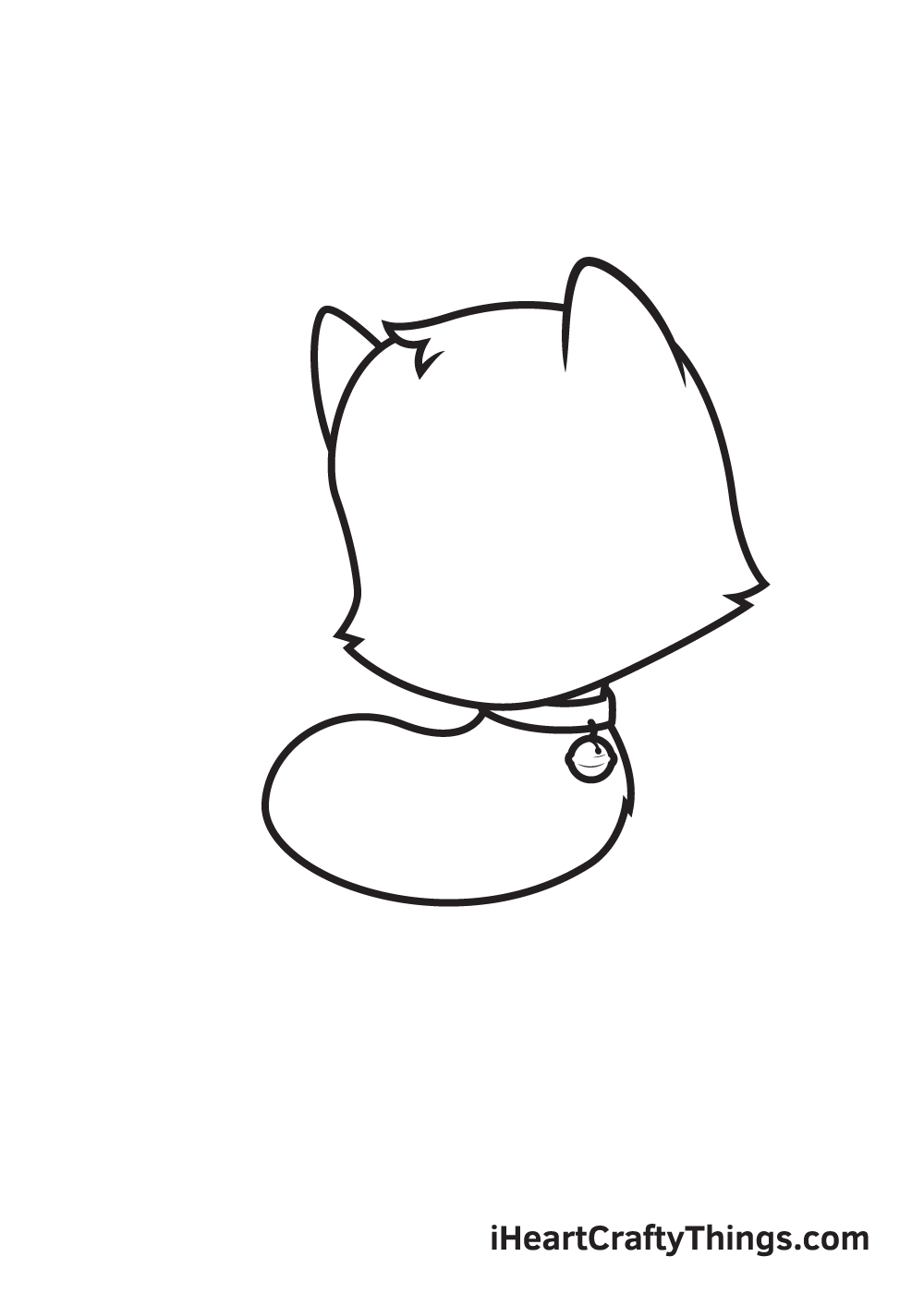 cat drawing – step 5