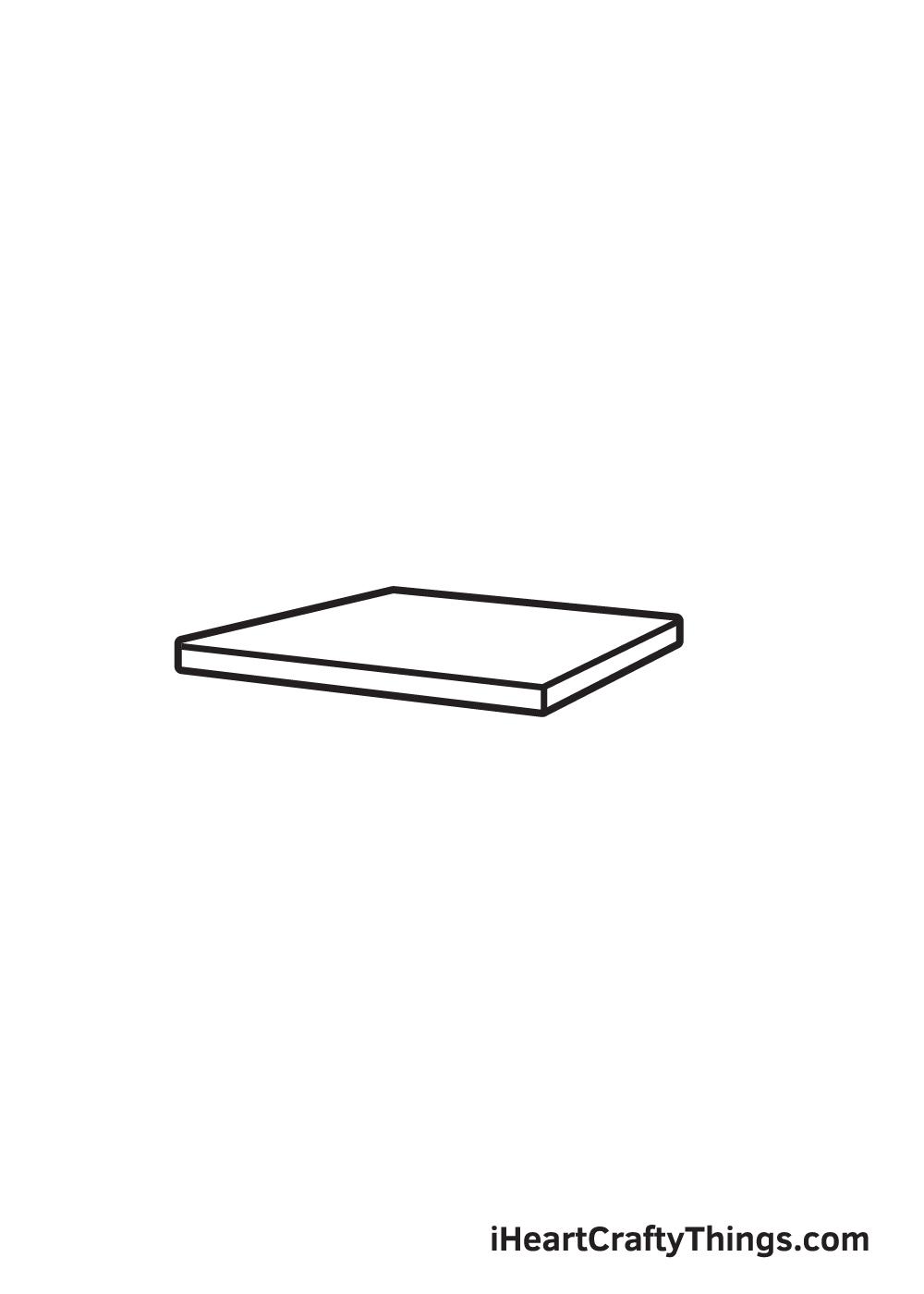 Vẽ ghế - Bước 1