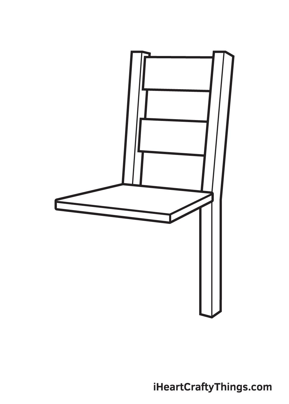 Vẽ ghế - Bước 5