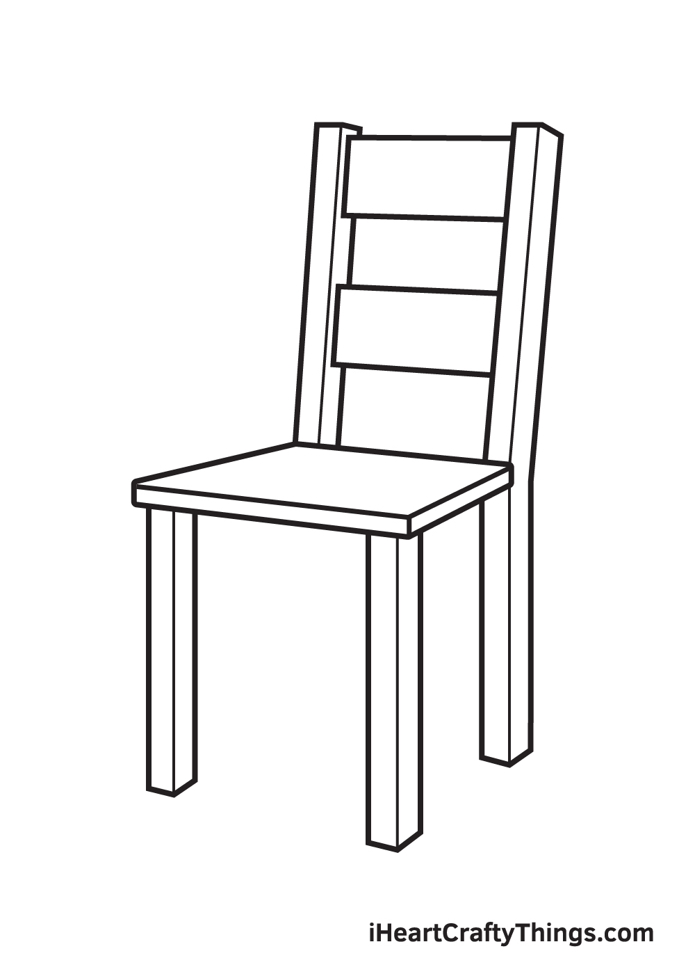 Vẽ ghế - Bước 6
