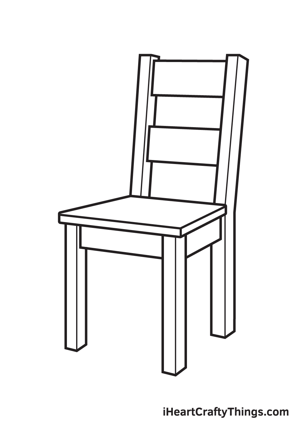 Chair Drawing – Step 7