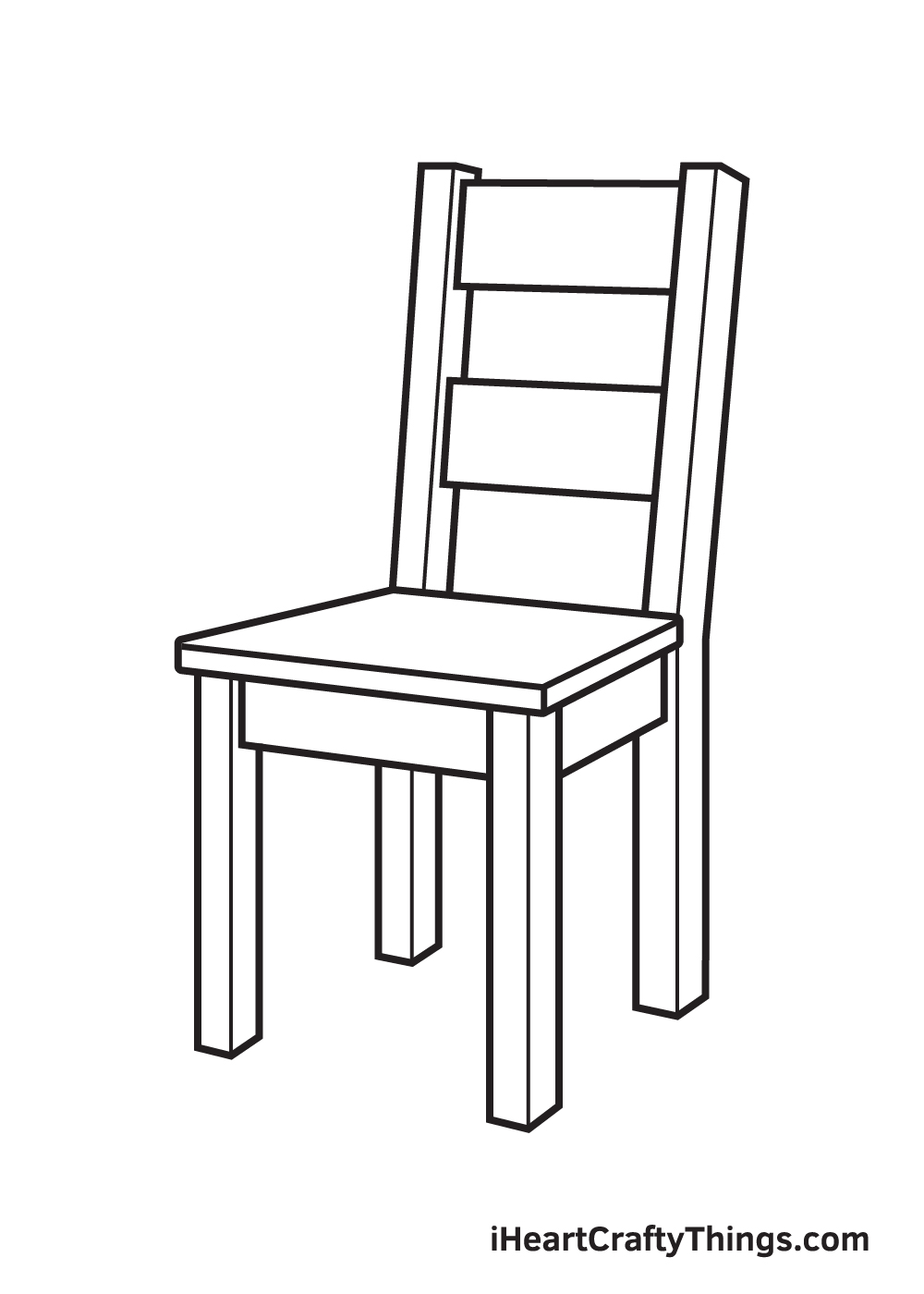 Chair Drawing – Step 8