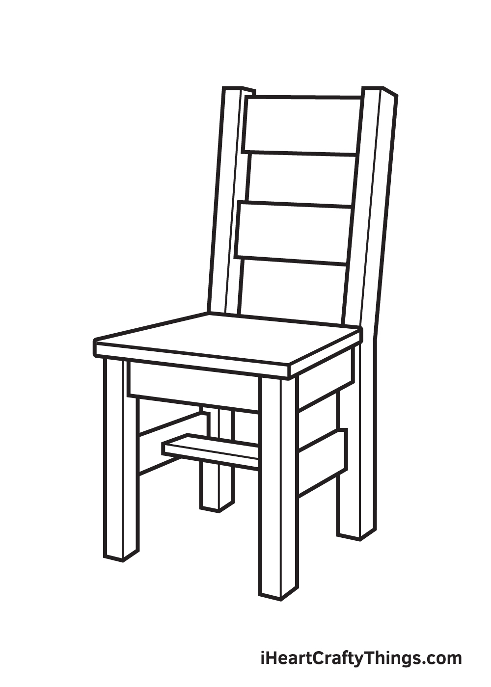 Chair Drawing – Step 9