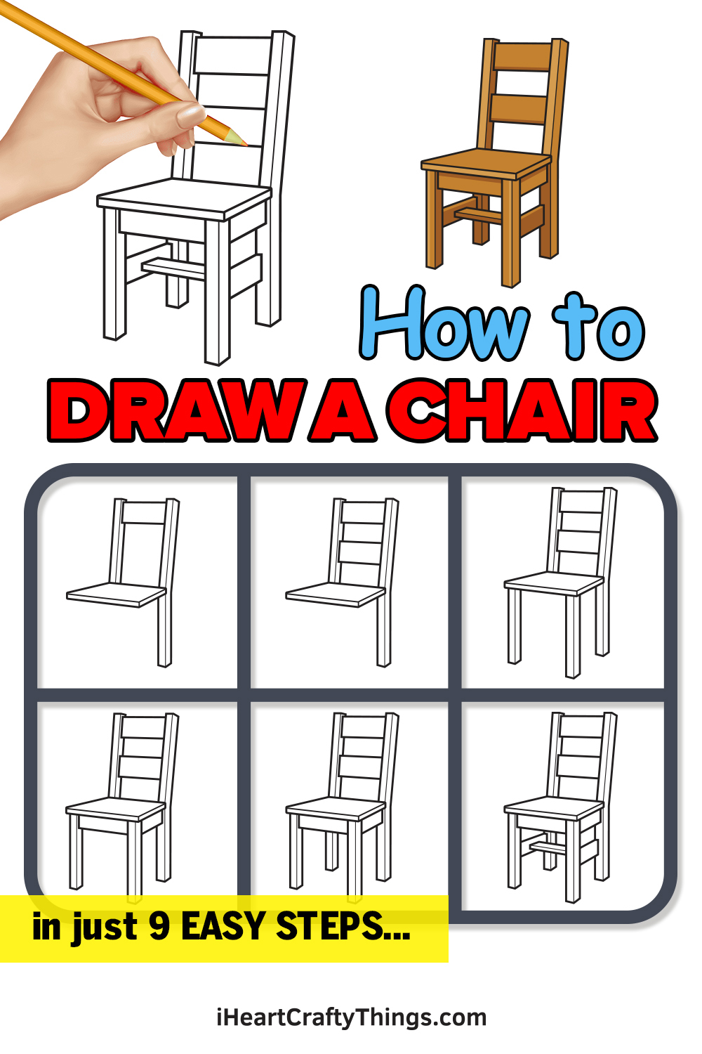 How to Draw a Chair in 9 Easy Steps