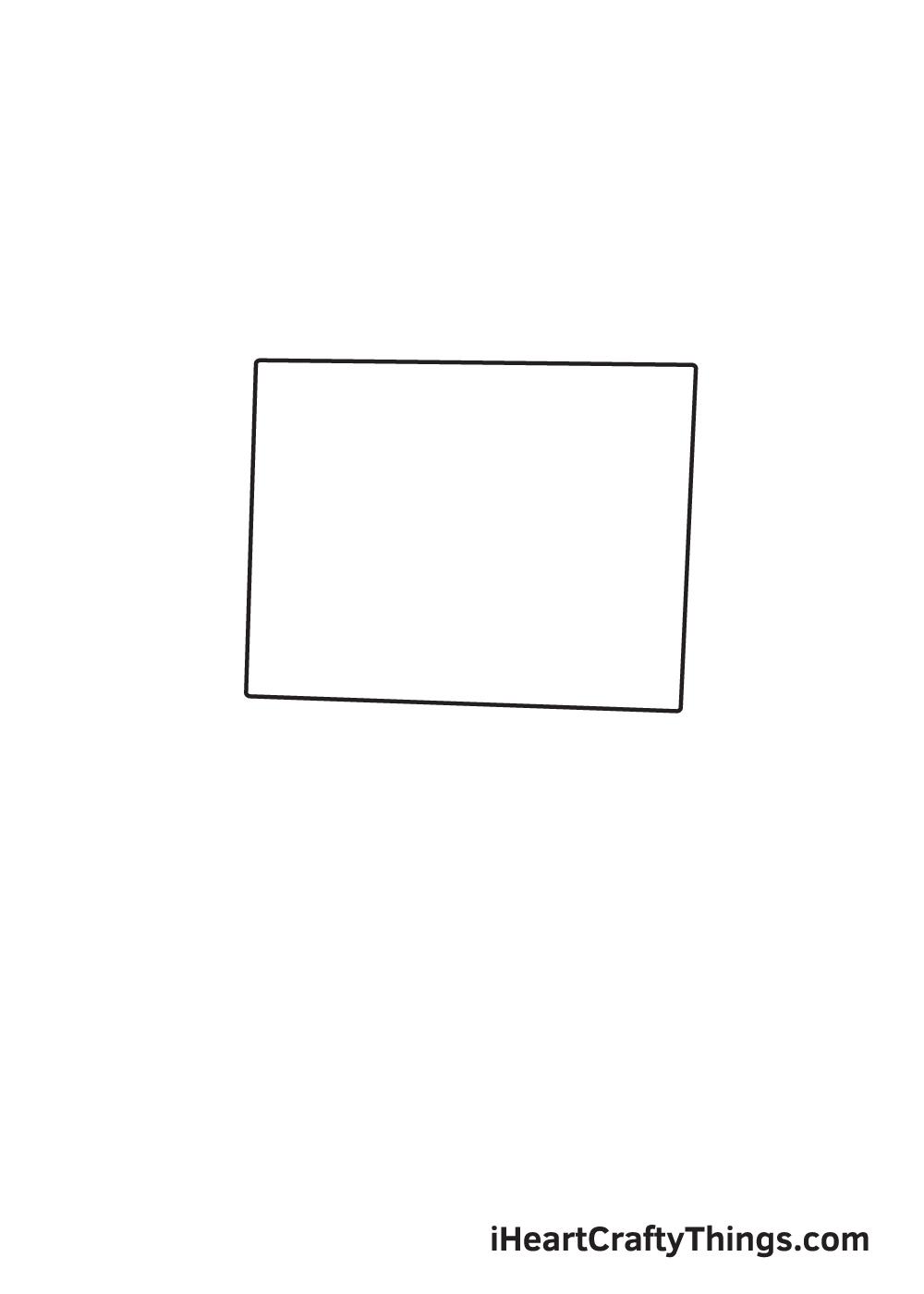computer drawing - step 1