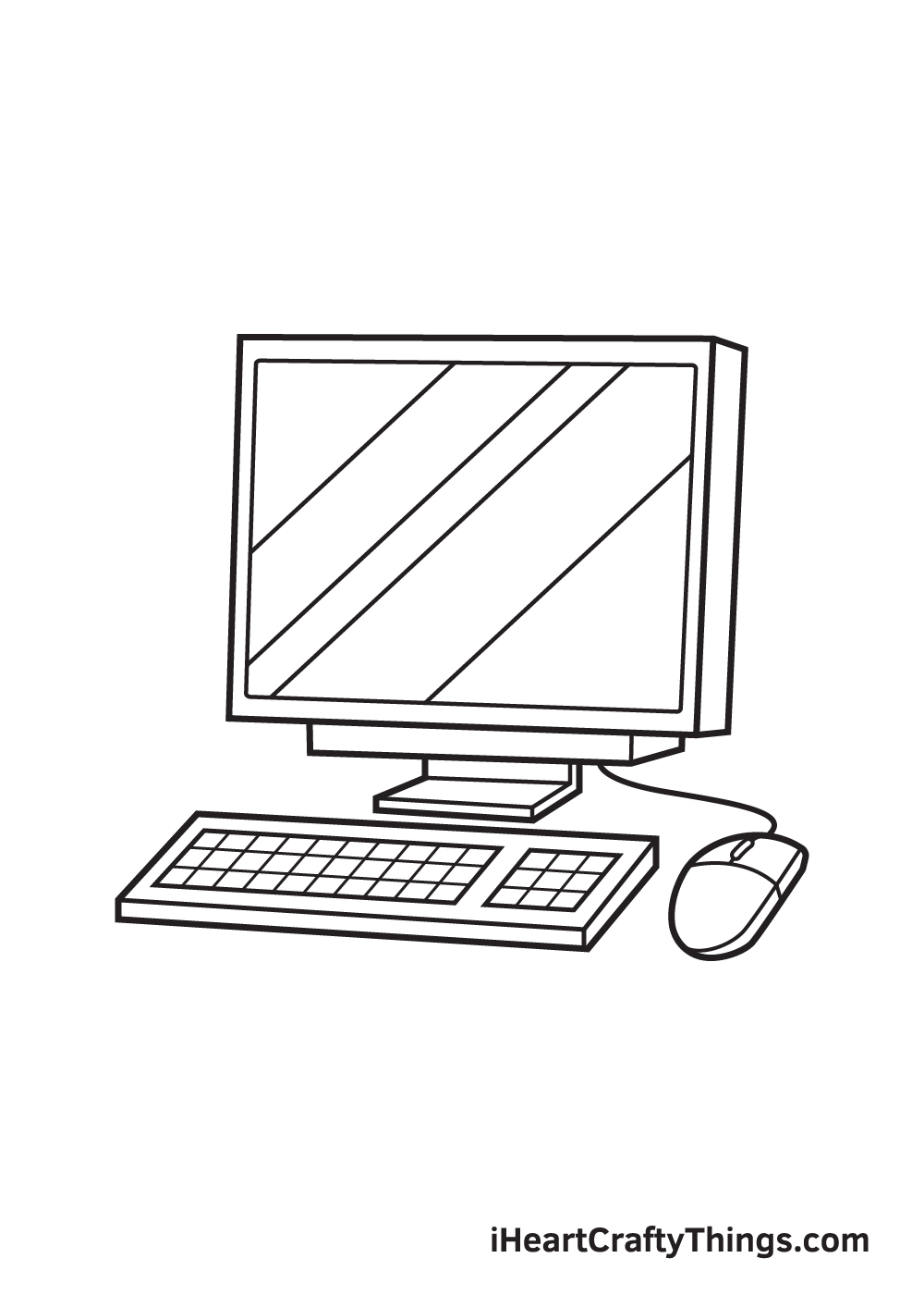computer drawing - step 9