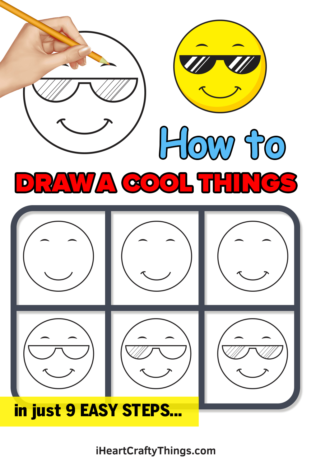 How to Draw Cool Things in 9 Easy Steps