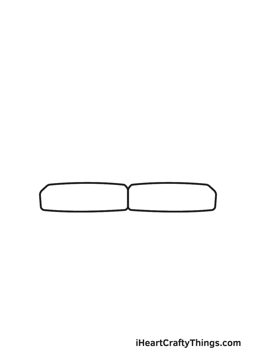 Couch Drawing – Step 2