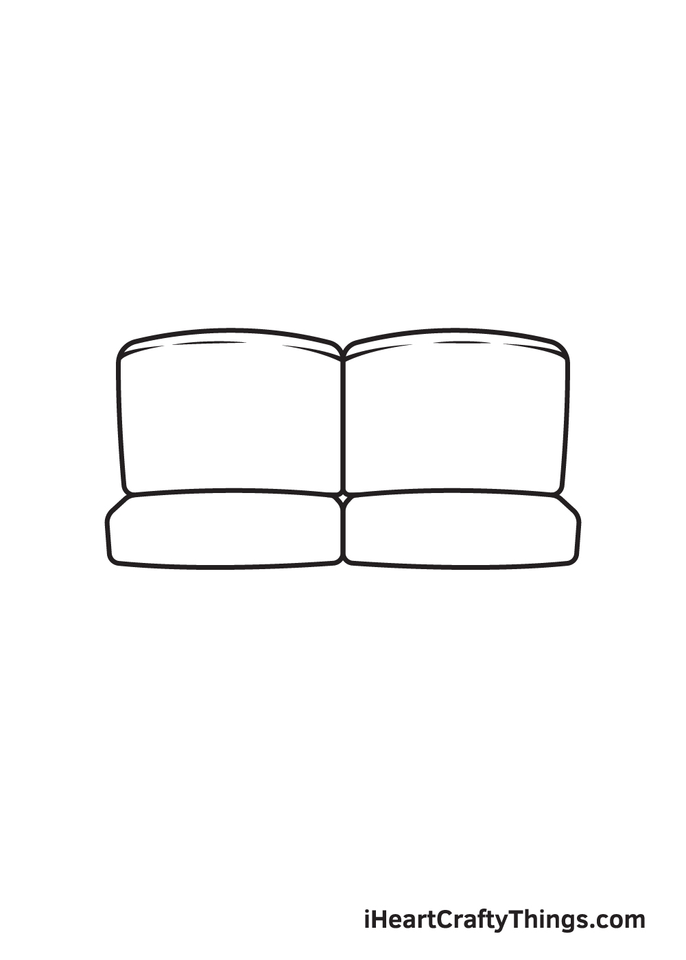 Couch Drawing – Step 4