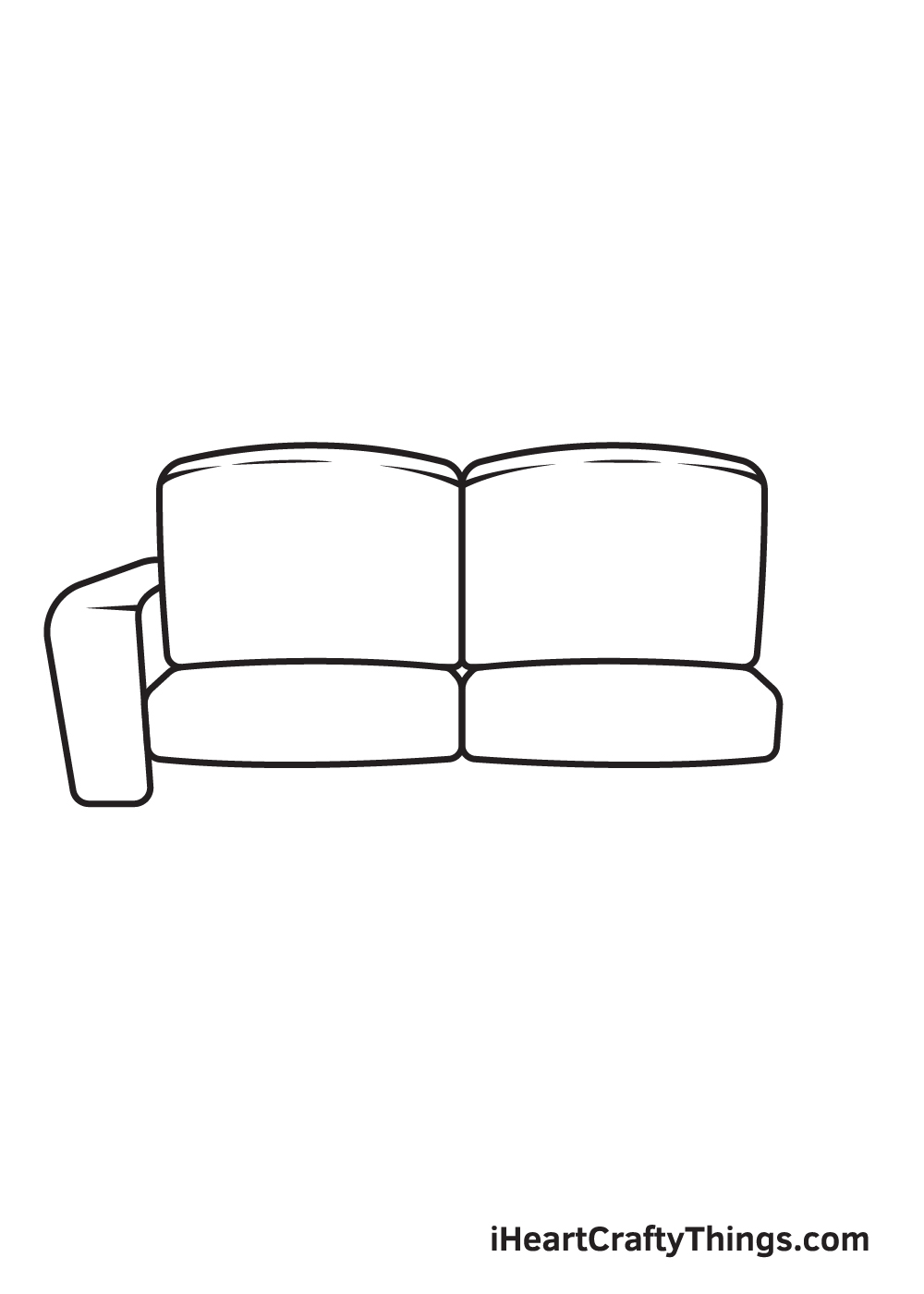 Couch Drawing – Step 5