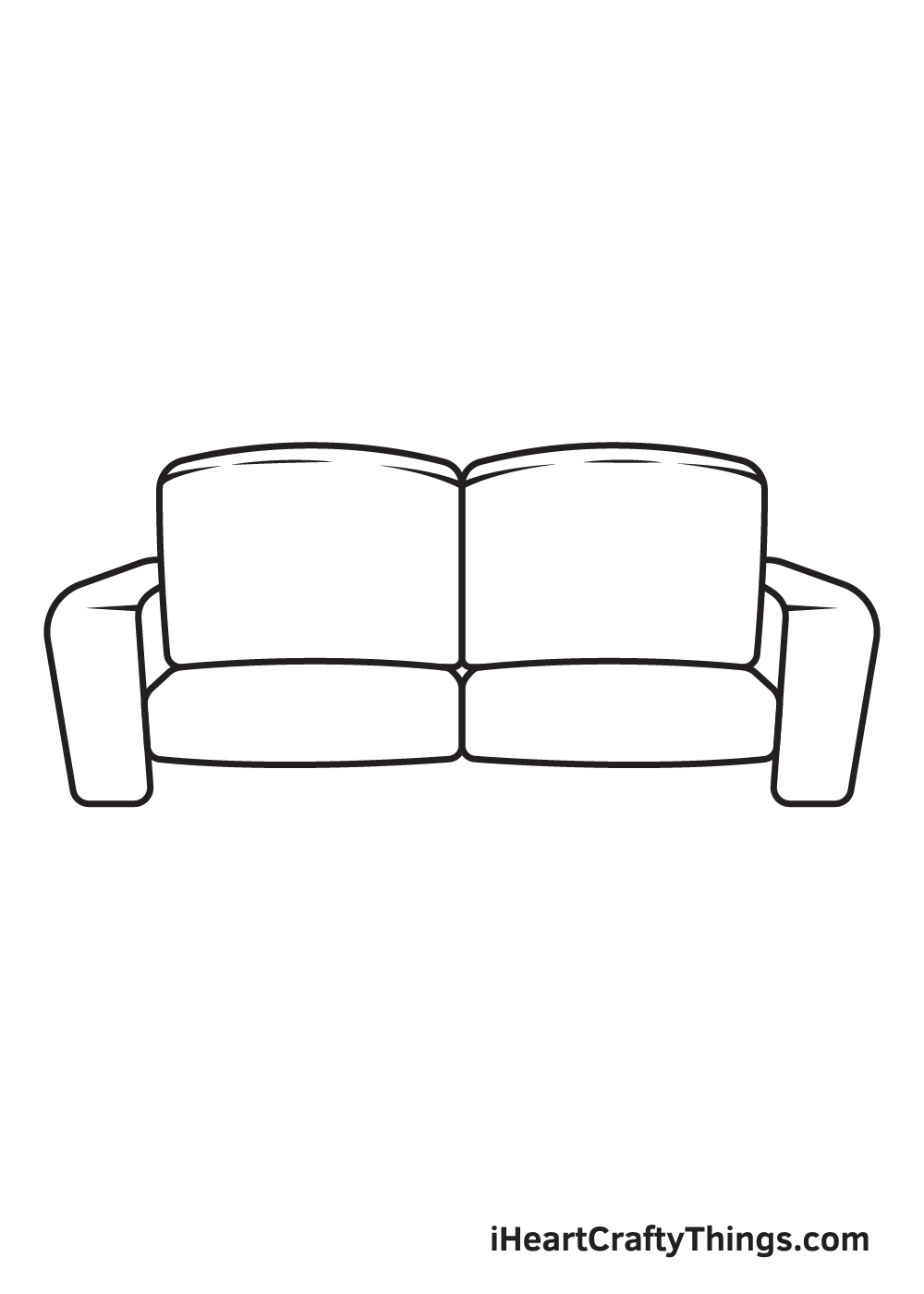 Couch Drawing – Step 6