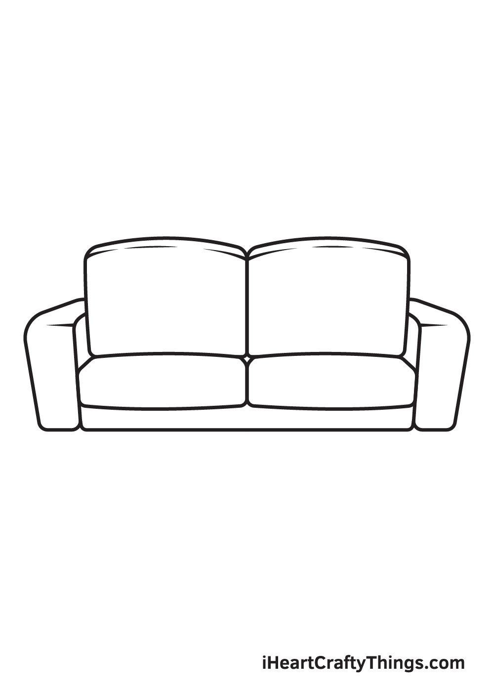 Couch Drawing – Step 7