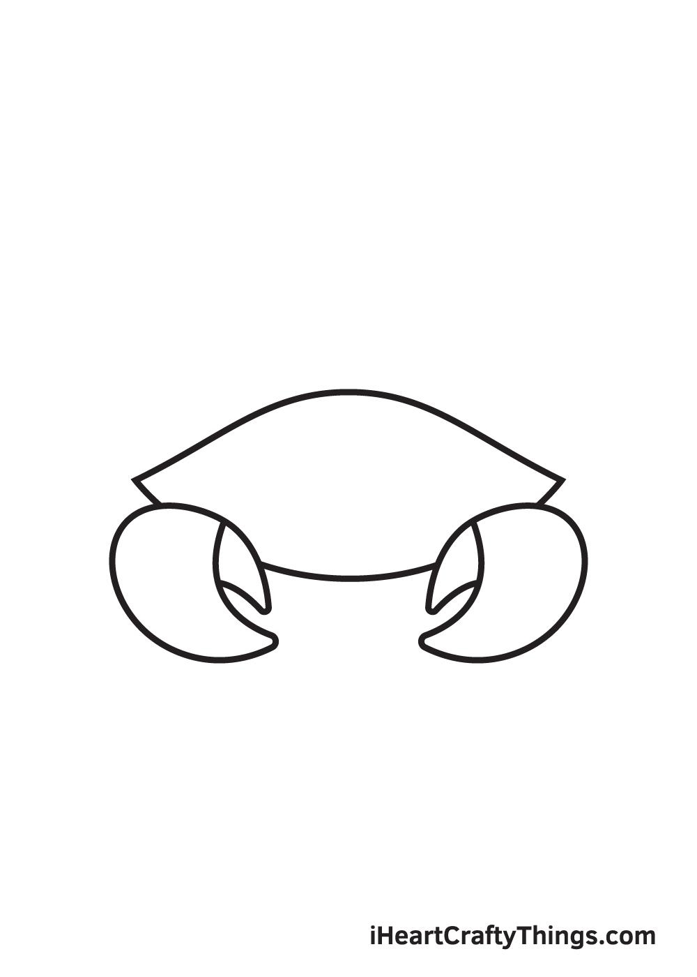 Crab Drawing – Step 3