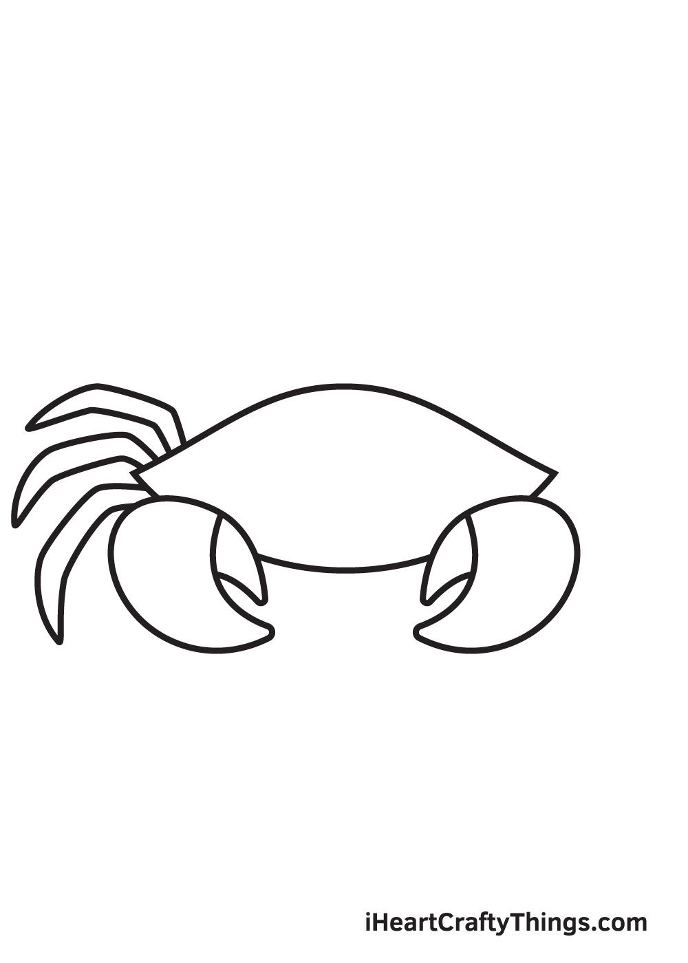 Crab Drawing – Step 4