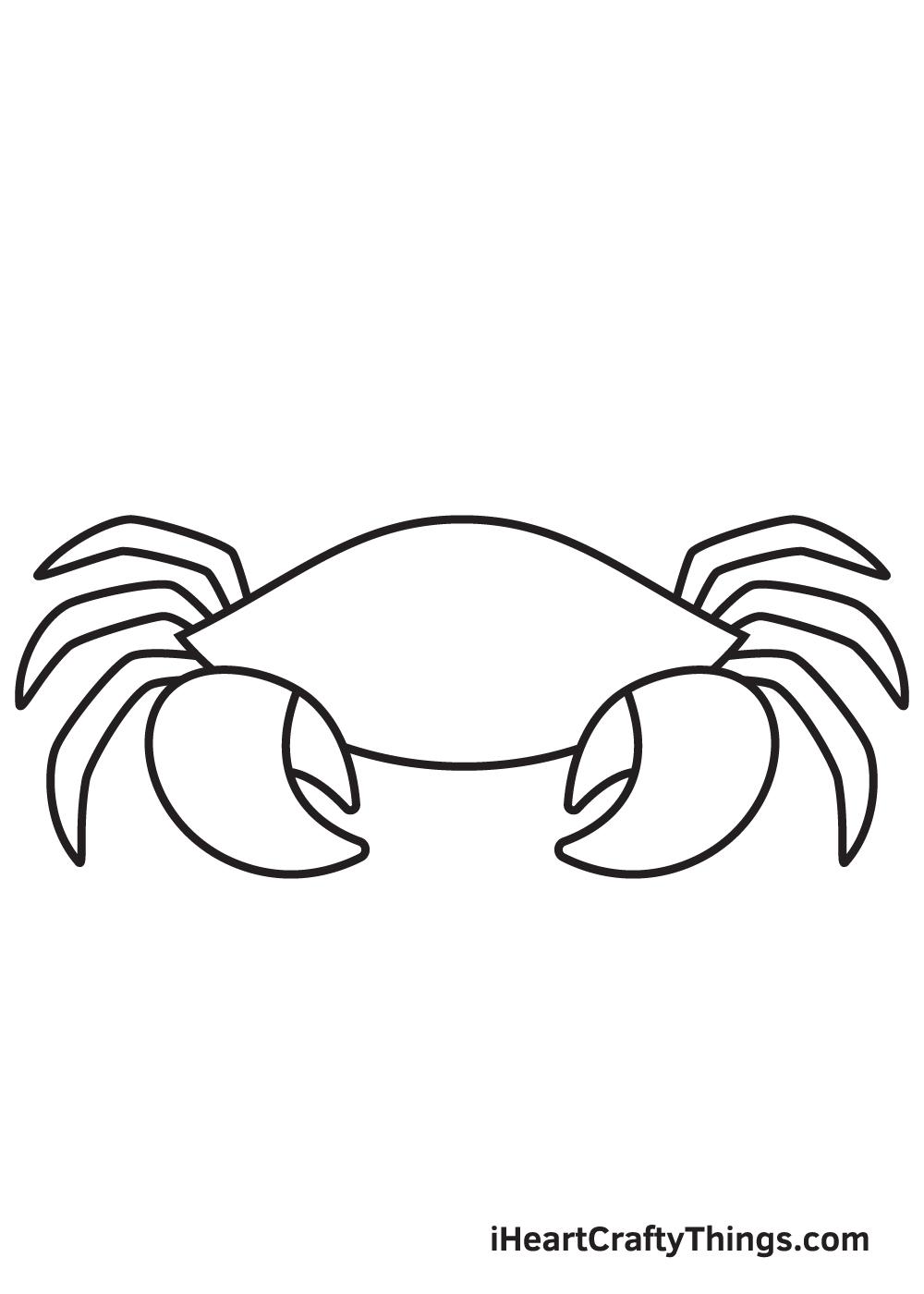 Crab Drawing – Step 5