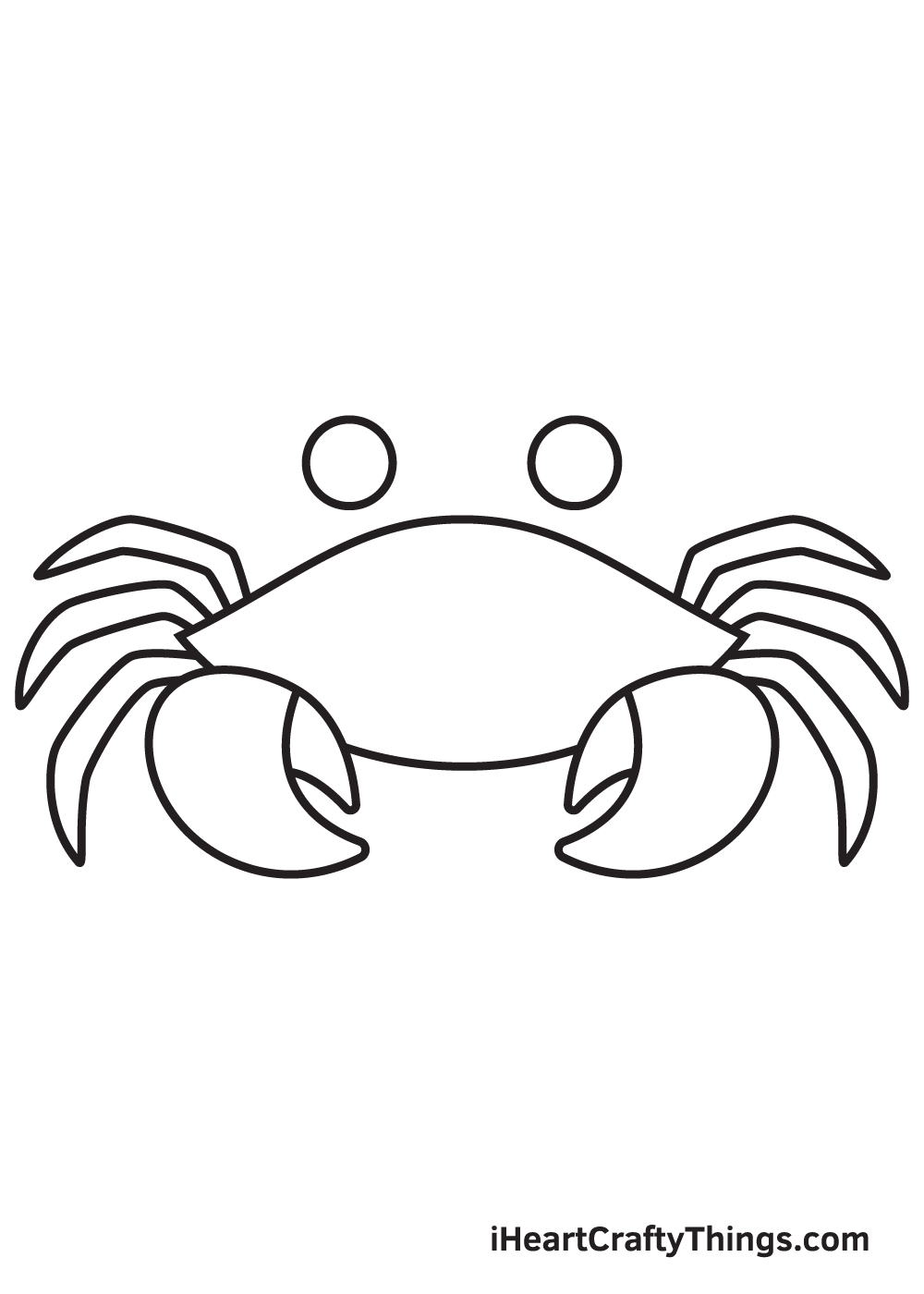 Crab Drawing – Step 6