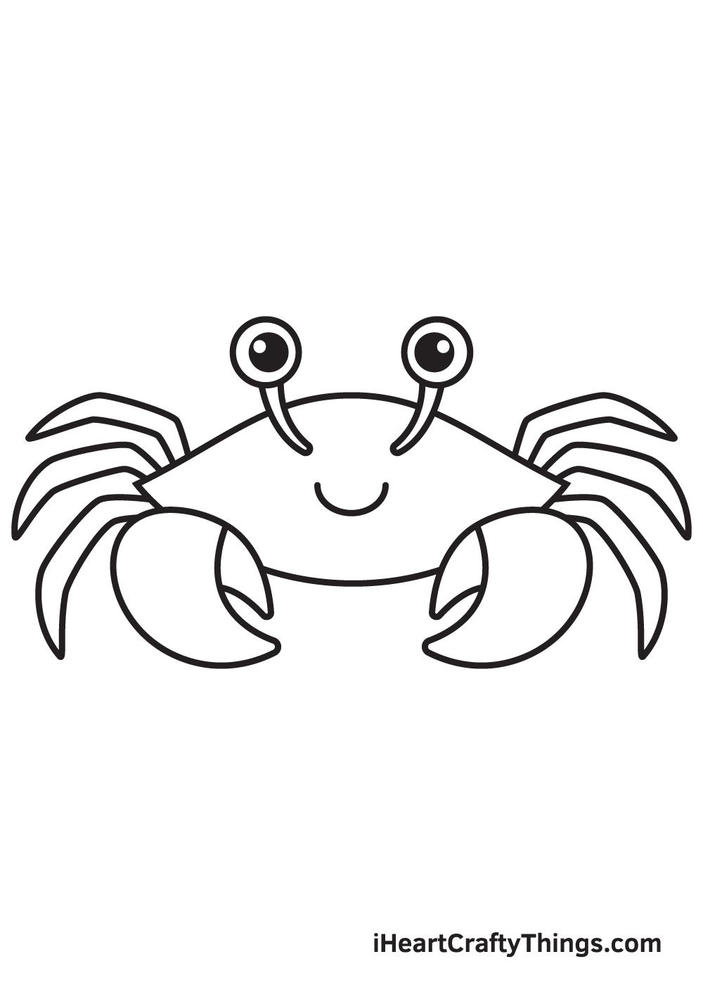 Crab Drawing – Step 8