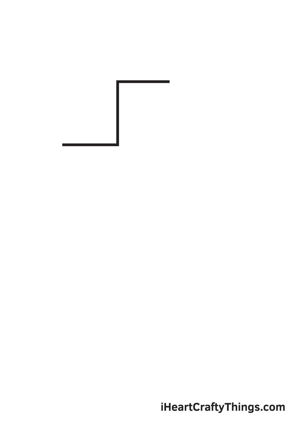 cross drawing - step 1