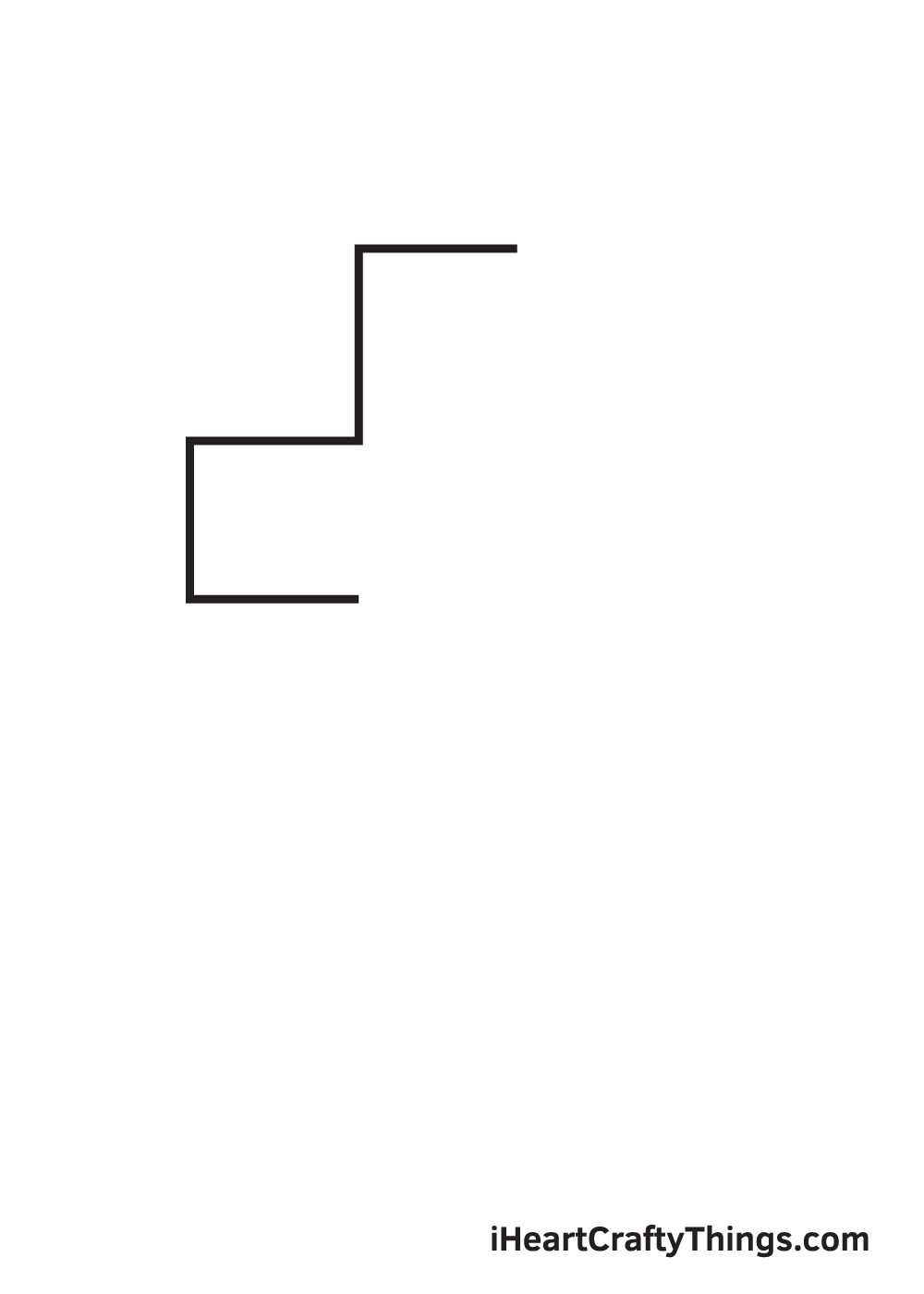 cross drawing - step 2
