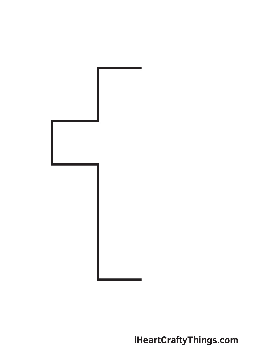 cross drawing - step 3