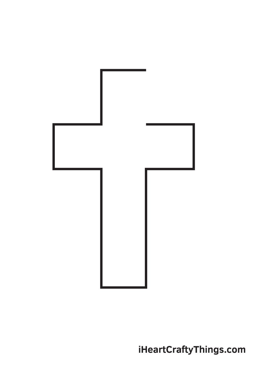 cross drawing - step 5