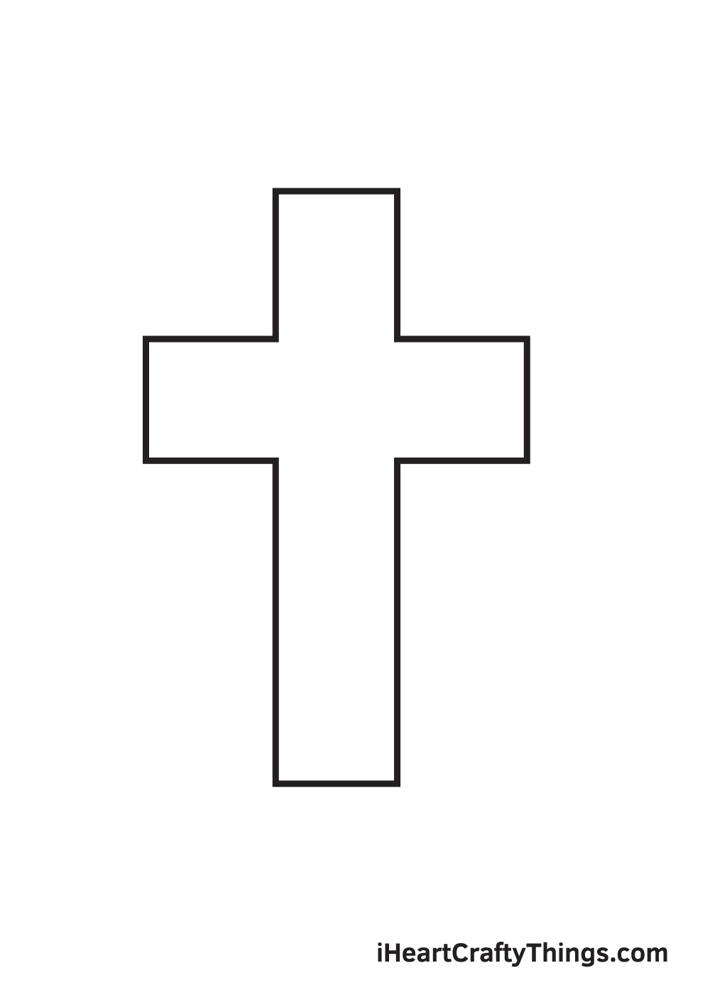 cross drawing - step 6