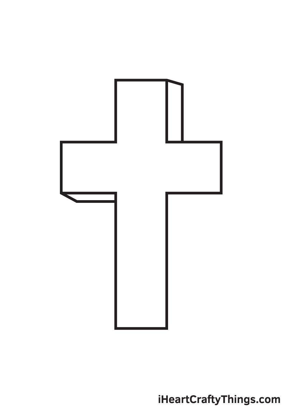 cross drawing - step 7