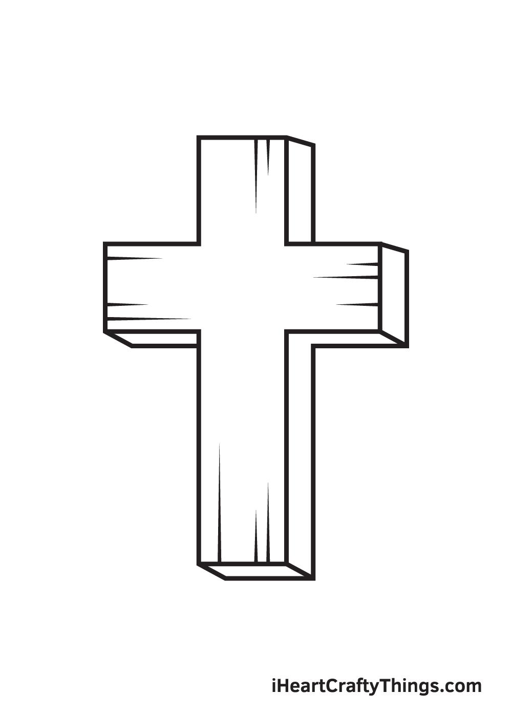cross drawing - step 9