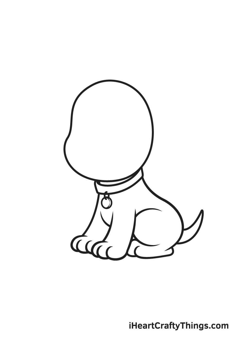 dog drawing - step 6