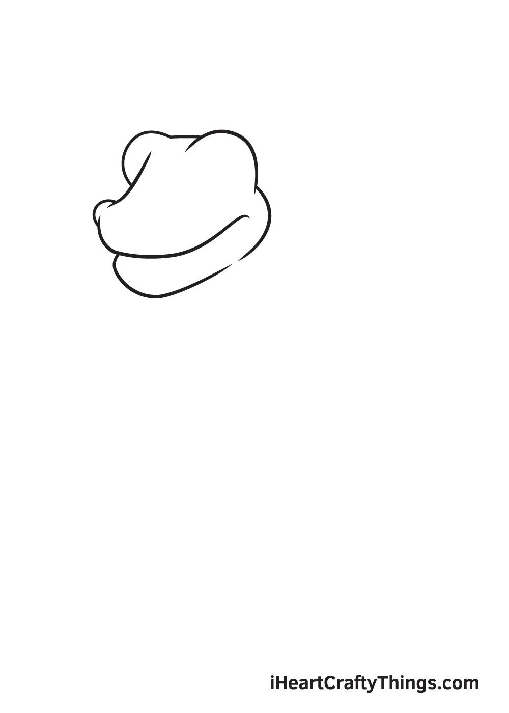 Dragon Drawing – Step 1