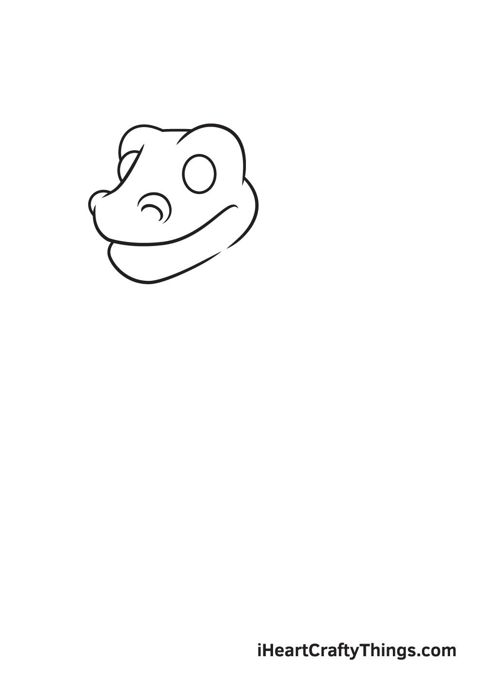 Dragon Drawing – Step 2