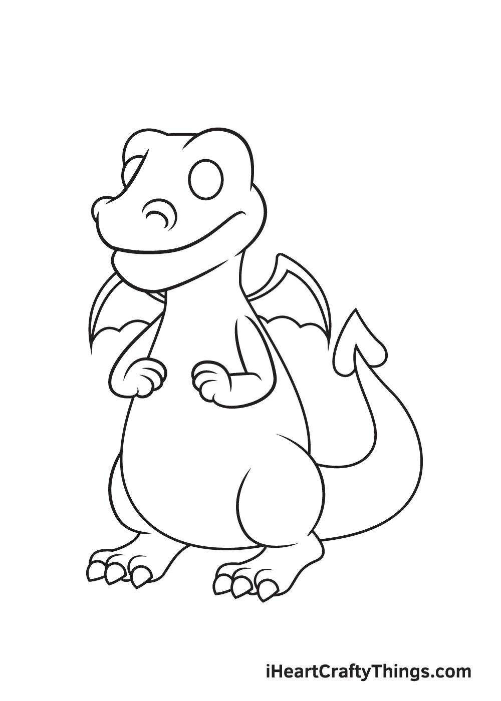 Dragon Drawing – Step 6
