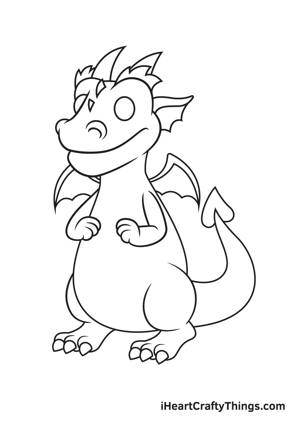 Dragon Drawing – Step 7