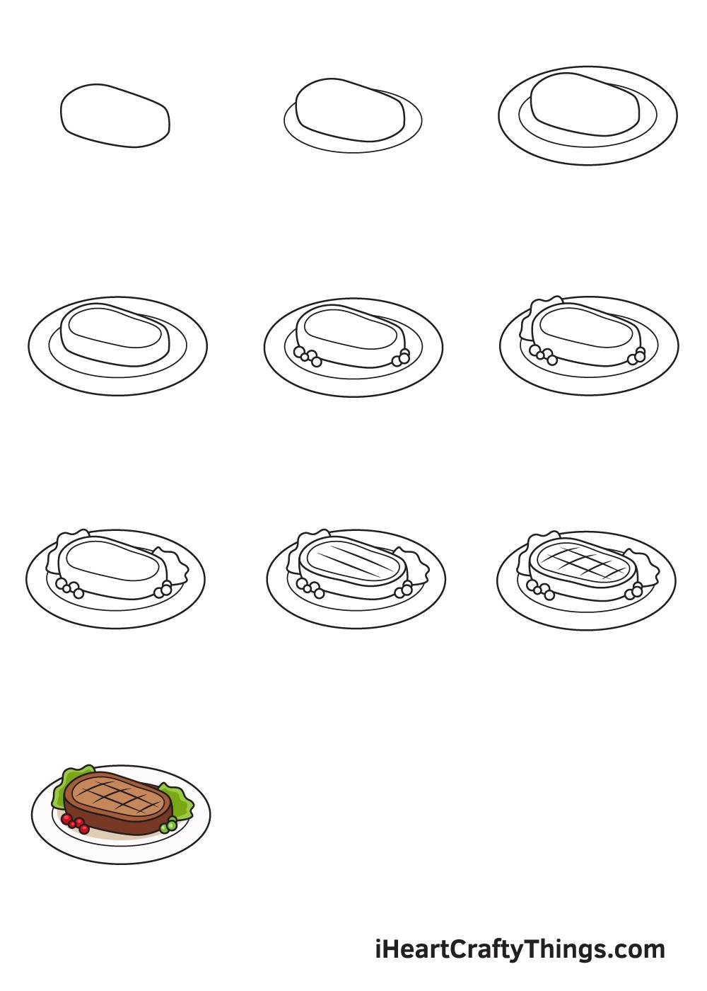 Drawing Food in 9 Easy Steps