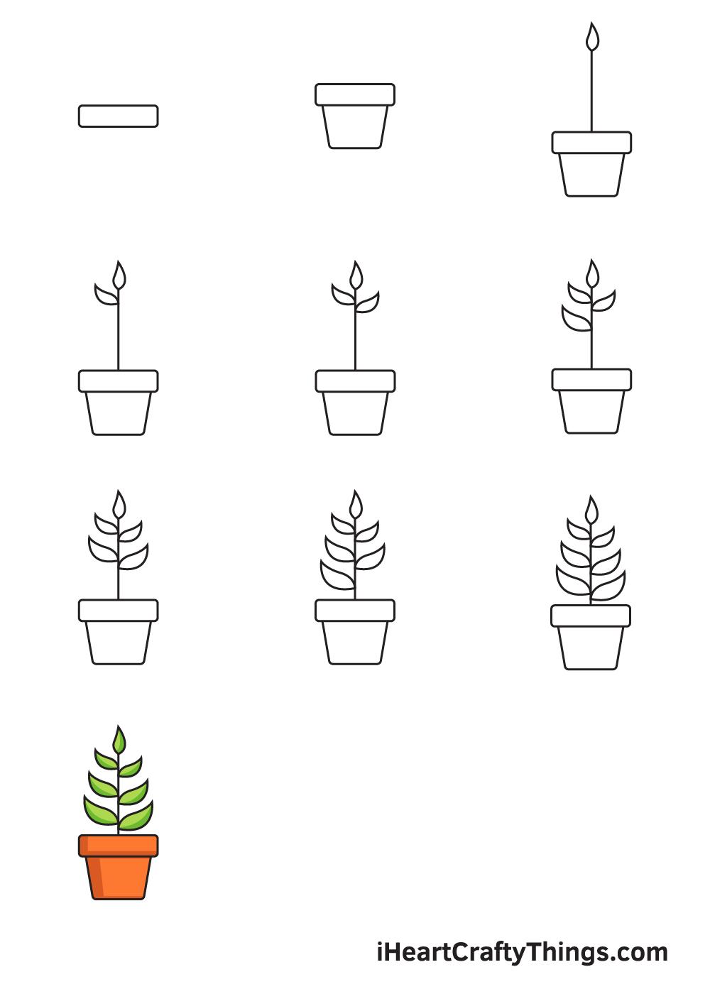 Vẽ cây trong 9 bước đơn giản
