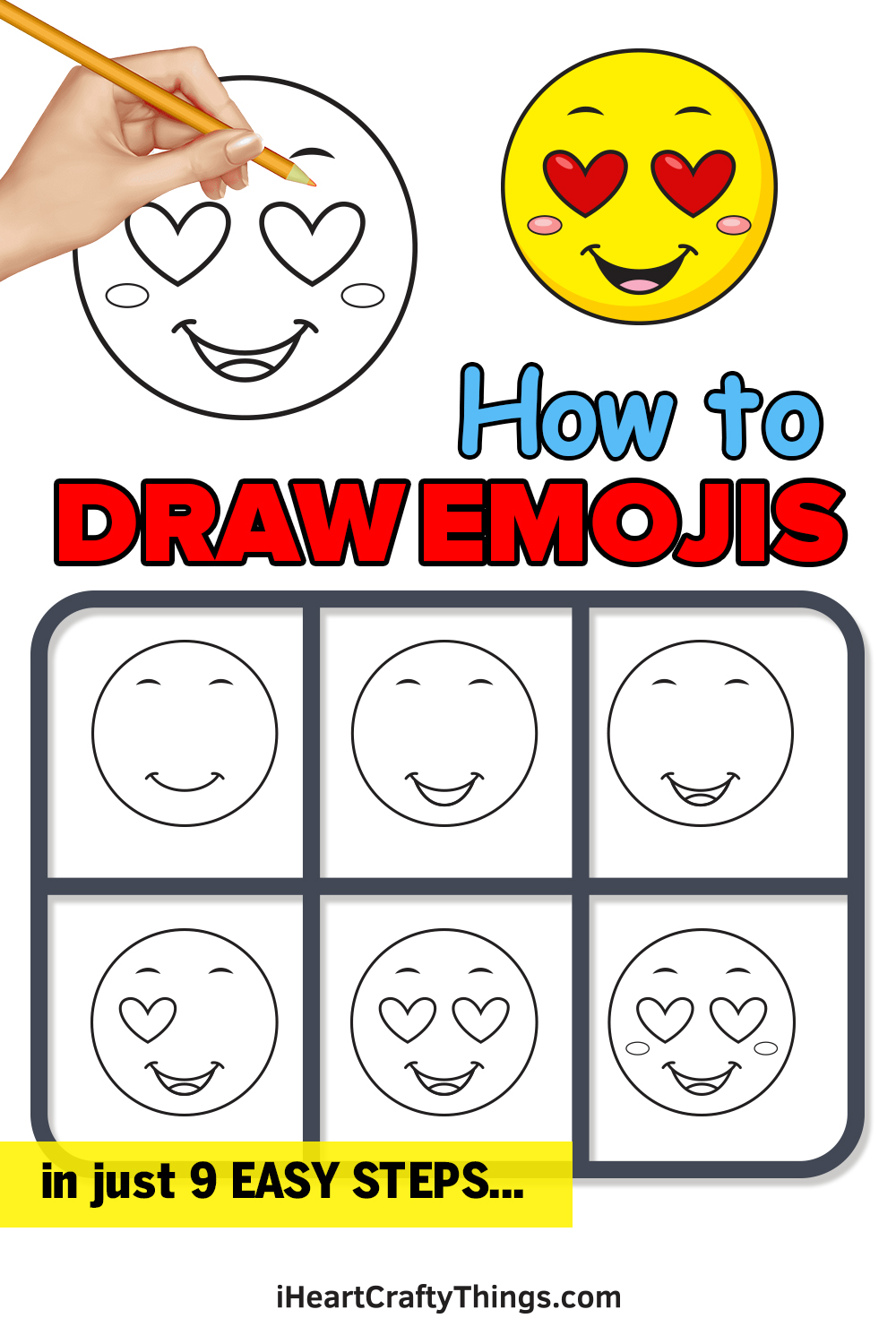 How to Draw Emojis in 9 Easy Steps