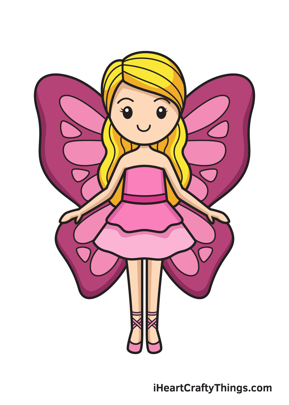 Fairy Drawing – 9 Steps
