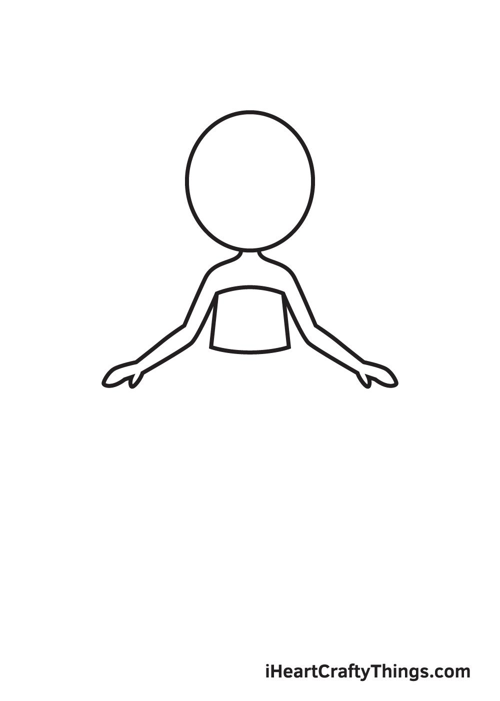 Vẽ cổ tích - Bước 2