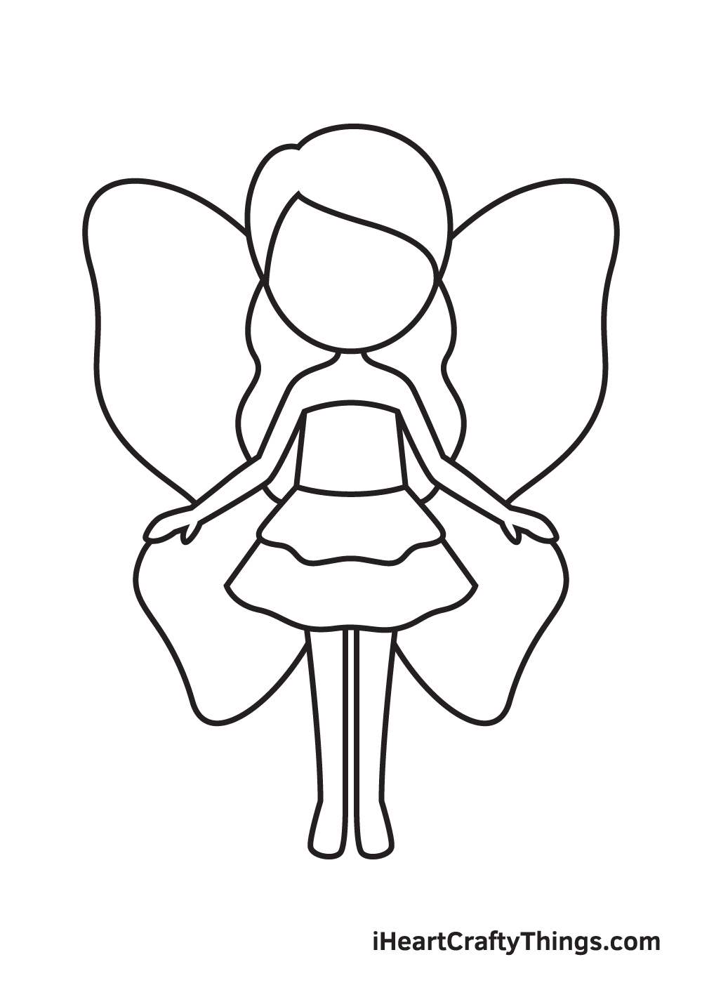 Fairy Drawing – Step 7