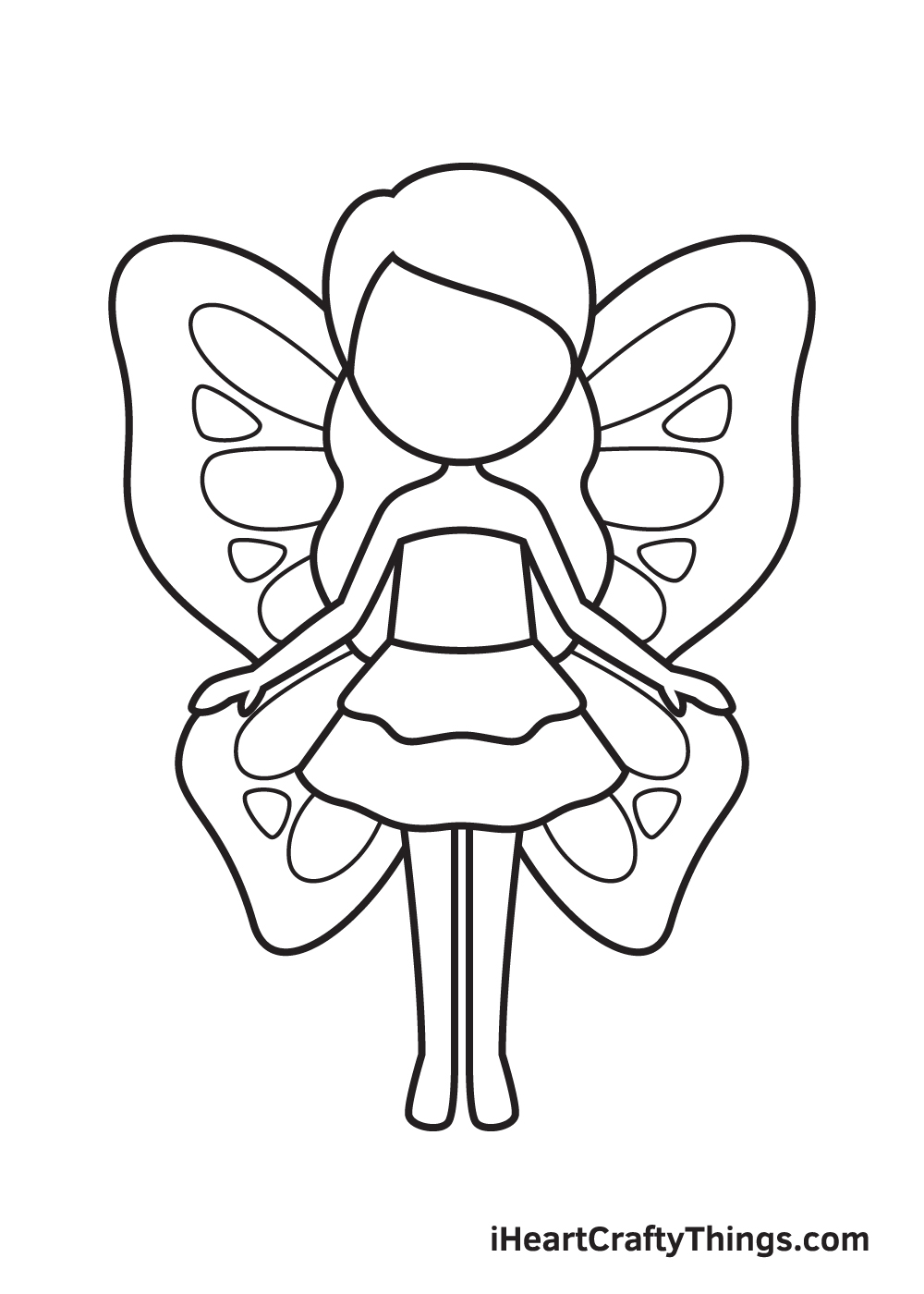 Fairy Drawing – Step 8