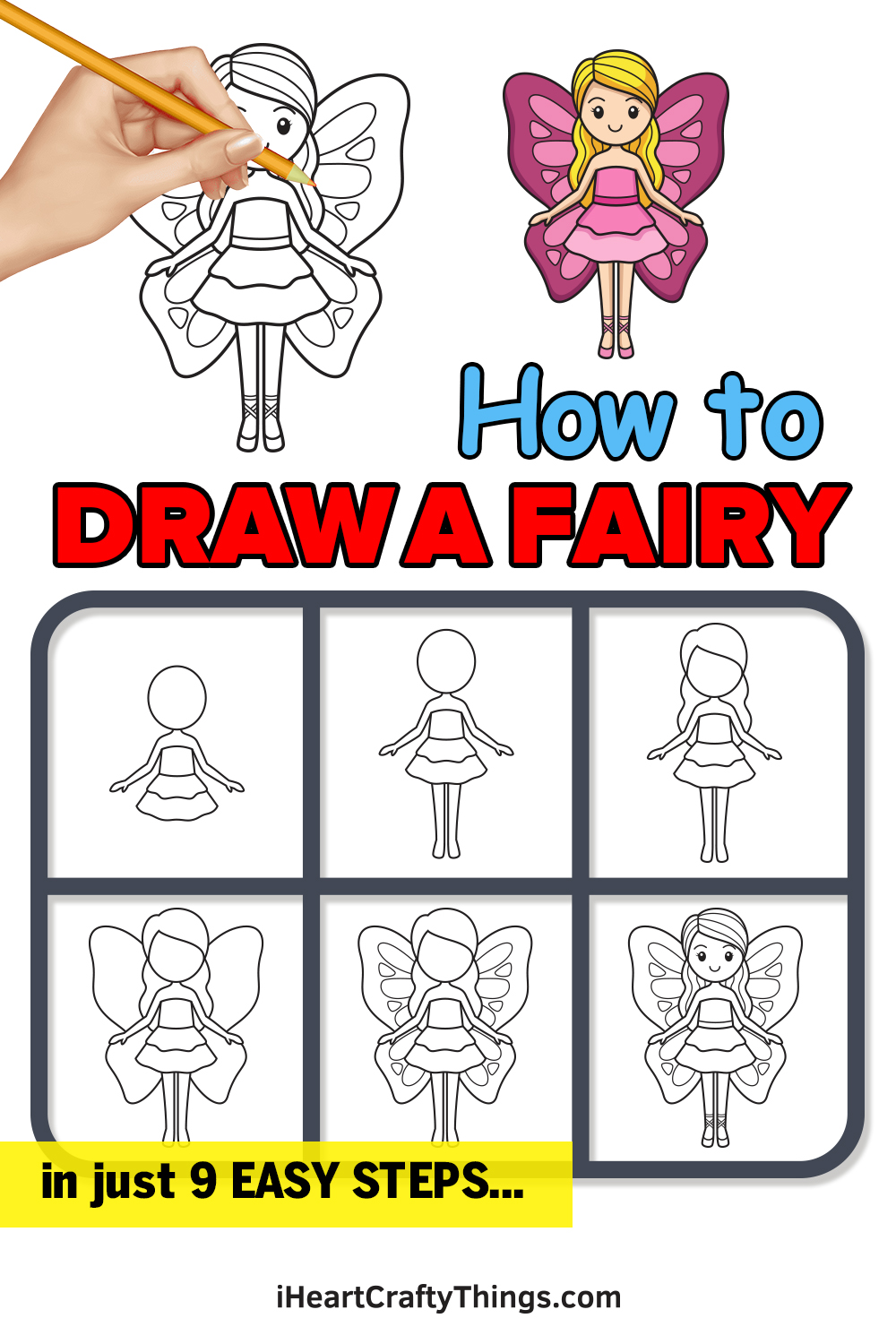 How to Draw a Fairy in 9 Easy Steps